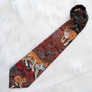 Lost Kingdom  Bobcat Tie